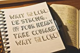 waiting for the Lord